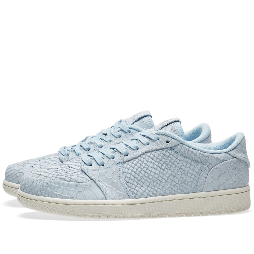 50bb00c62e3f Nike Air Jordan 1 Retro Low Ice Blue Sail