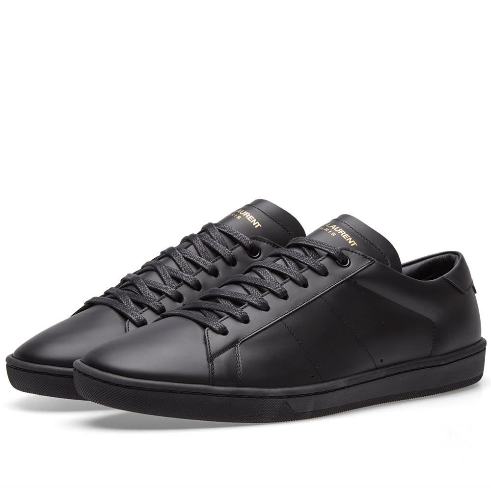 2fc9996dfac Saint Laurent SL01 Low Sneaker Black | END.