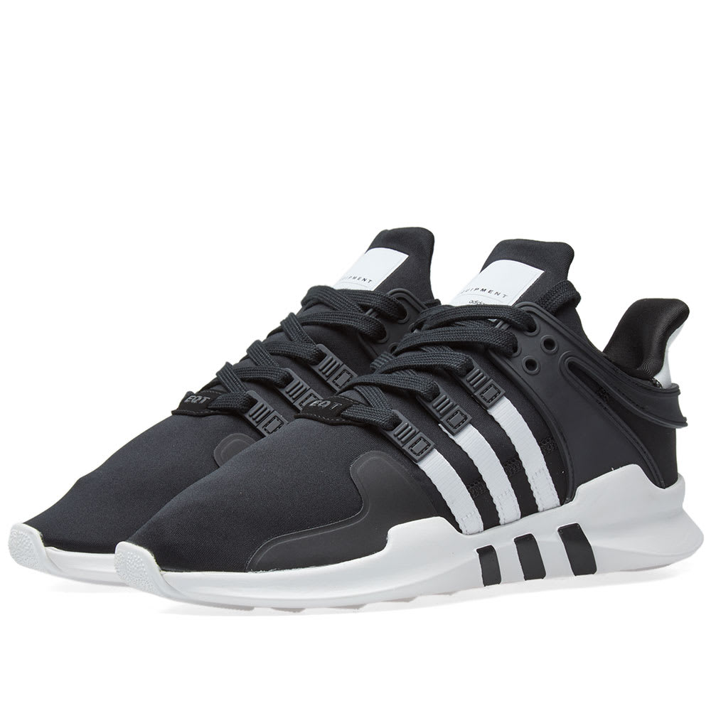adidas eqt support adv all black