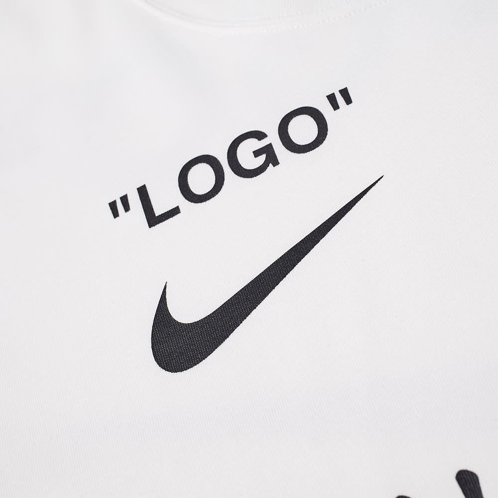 topowe marki cienie pierwsza stawka Nike x Off-White Tee