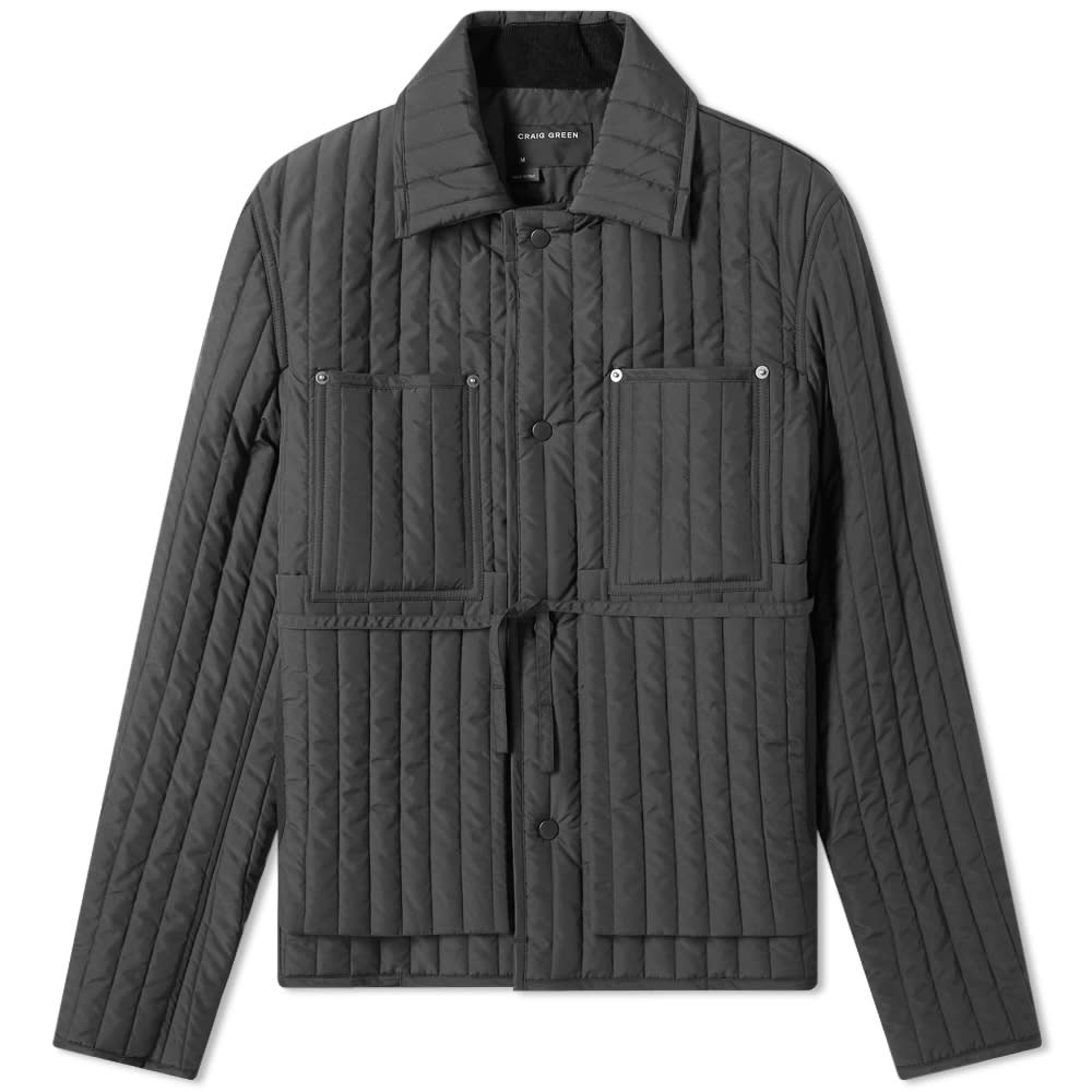 CRAIG GREEN Quilted Worked Jacket