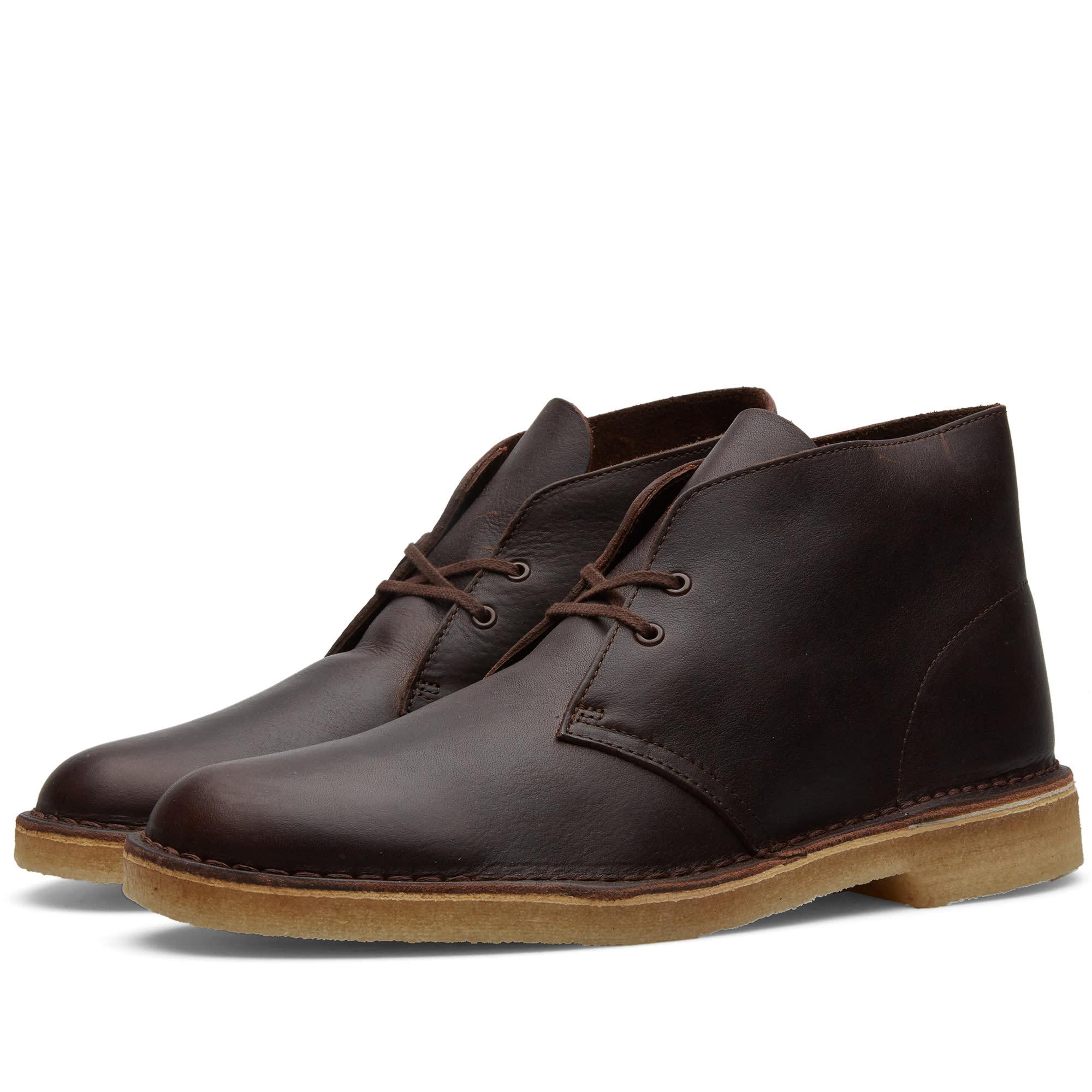 clarks originals desert boot brown tumbled leather. Black Bedroom Furniture Sets. Home Design Ideas