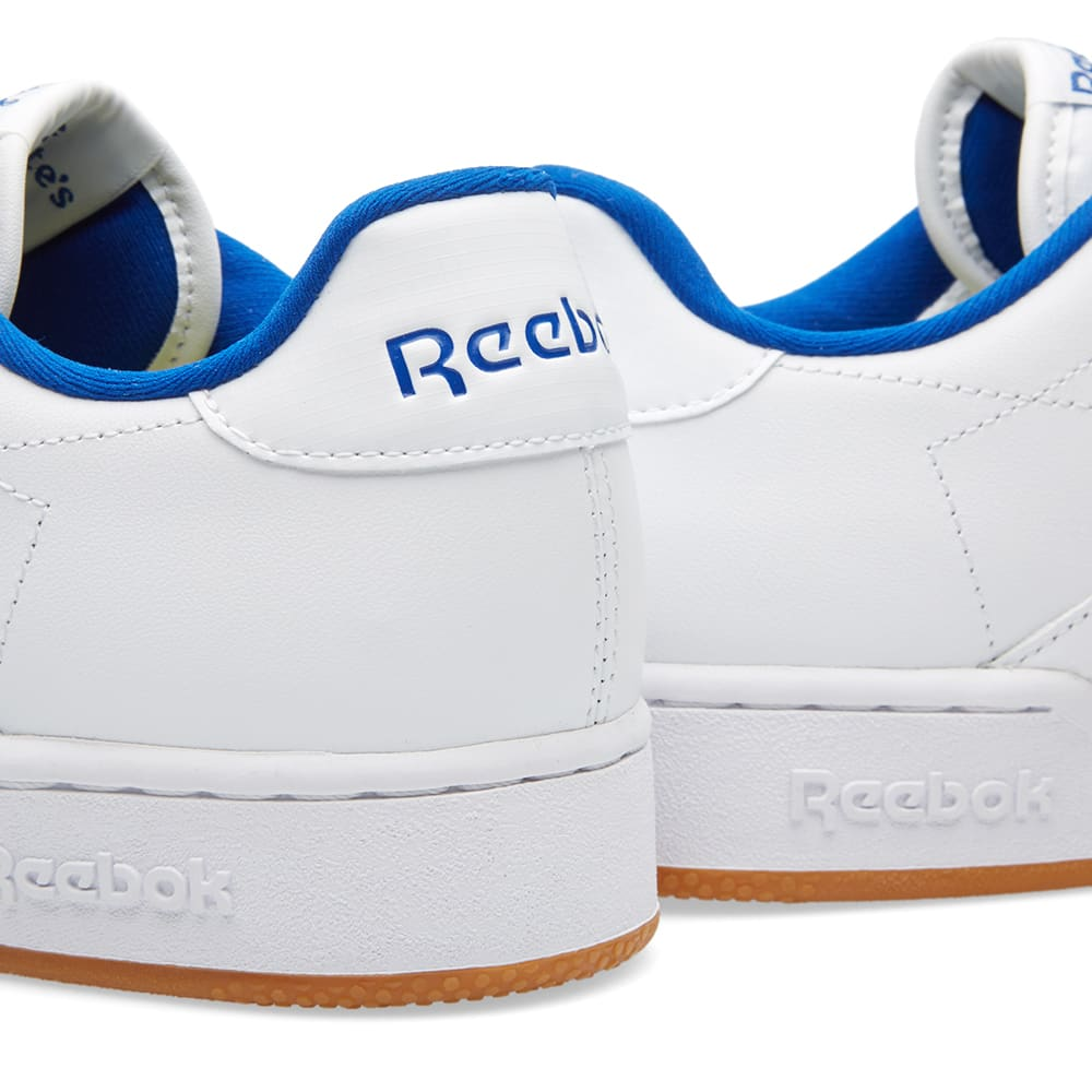 Reebok NPC UK II CP Shoes WhiteCollegiate RoyalGum