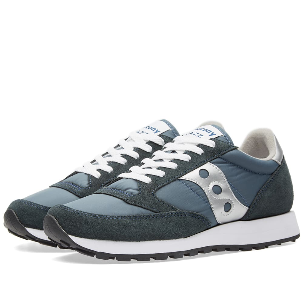 Saucony Jazz Original Navy Amp Silver End