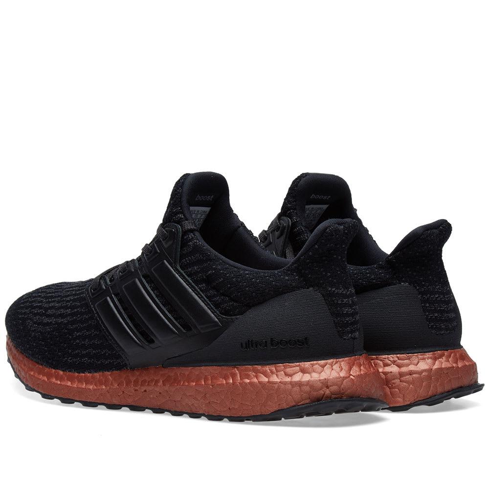 d640446e75385 Adidas Ultra Boost Core Black   Tech Rust