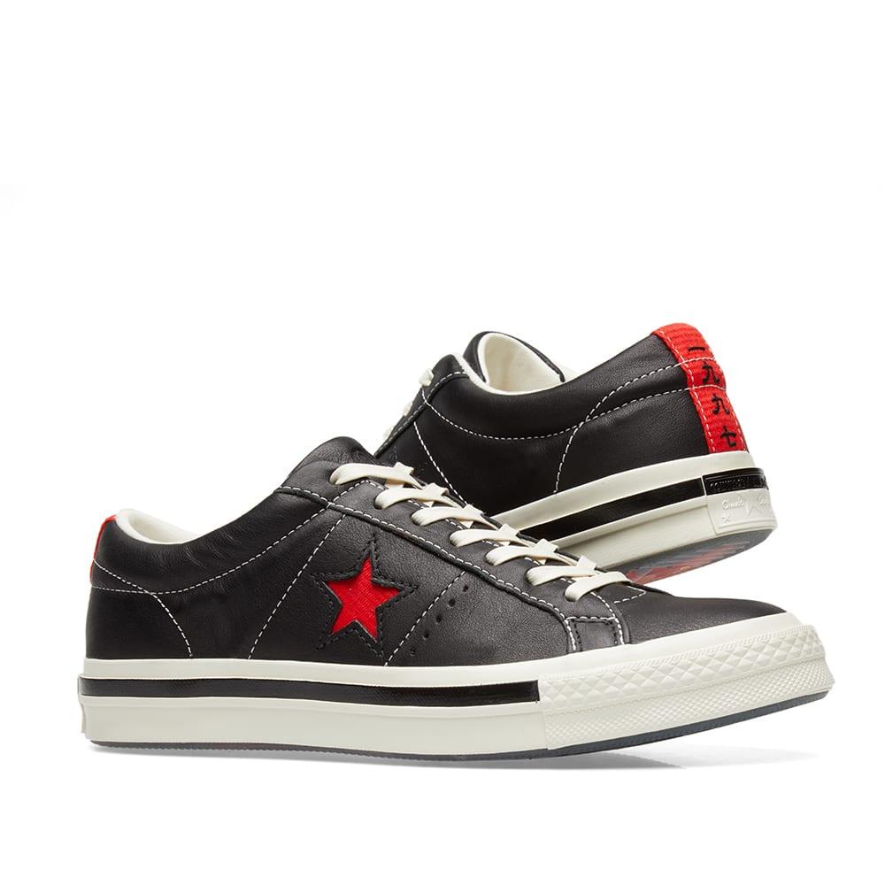 0e1b3f656a7e Converse x Kasina One Star Ox Black