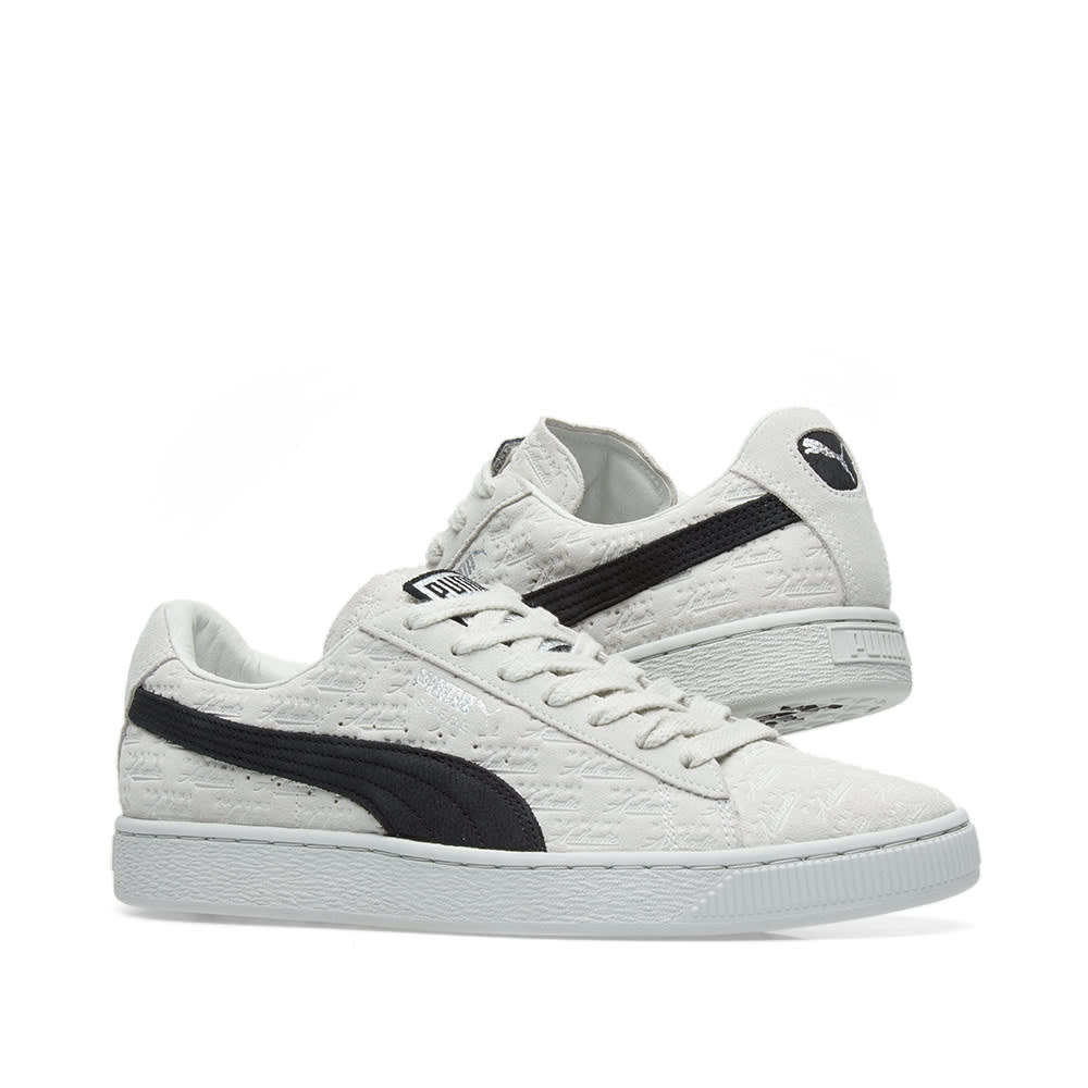 175359558b4 Puma x Panini Suede Classic White & Black | END.