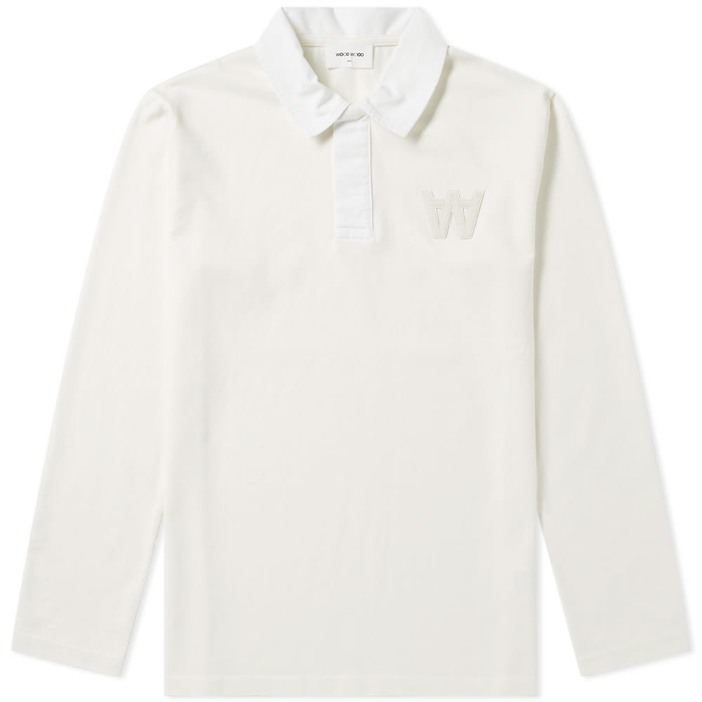WOOD WOOD OLIVER RUGBY TOP