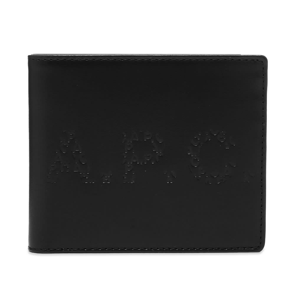 A.P.C. Aly Embossed Logo Billfold Wallet