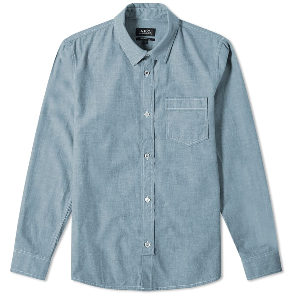A.P.C. Pond Chambray Work Shirt