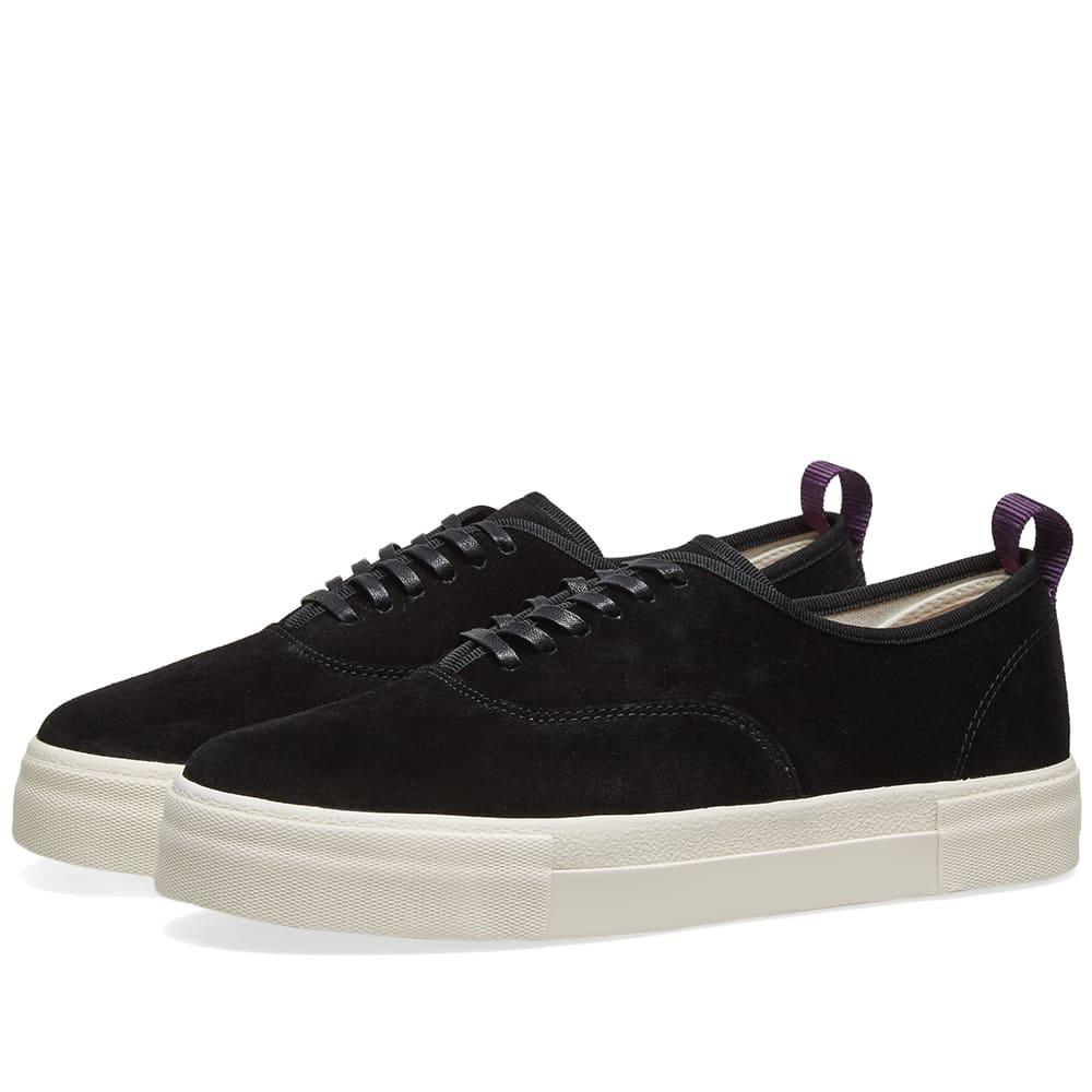 Eytys Mother Suede Sneaker Black | END.