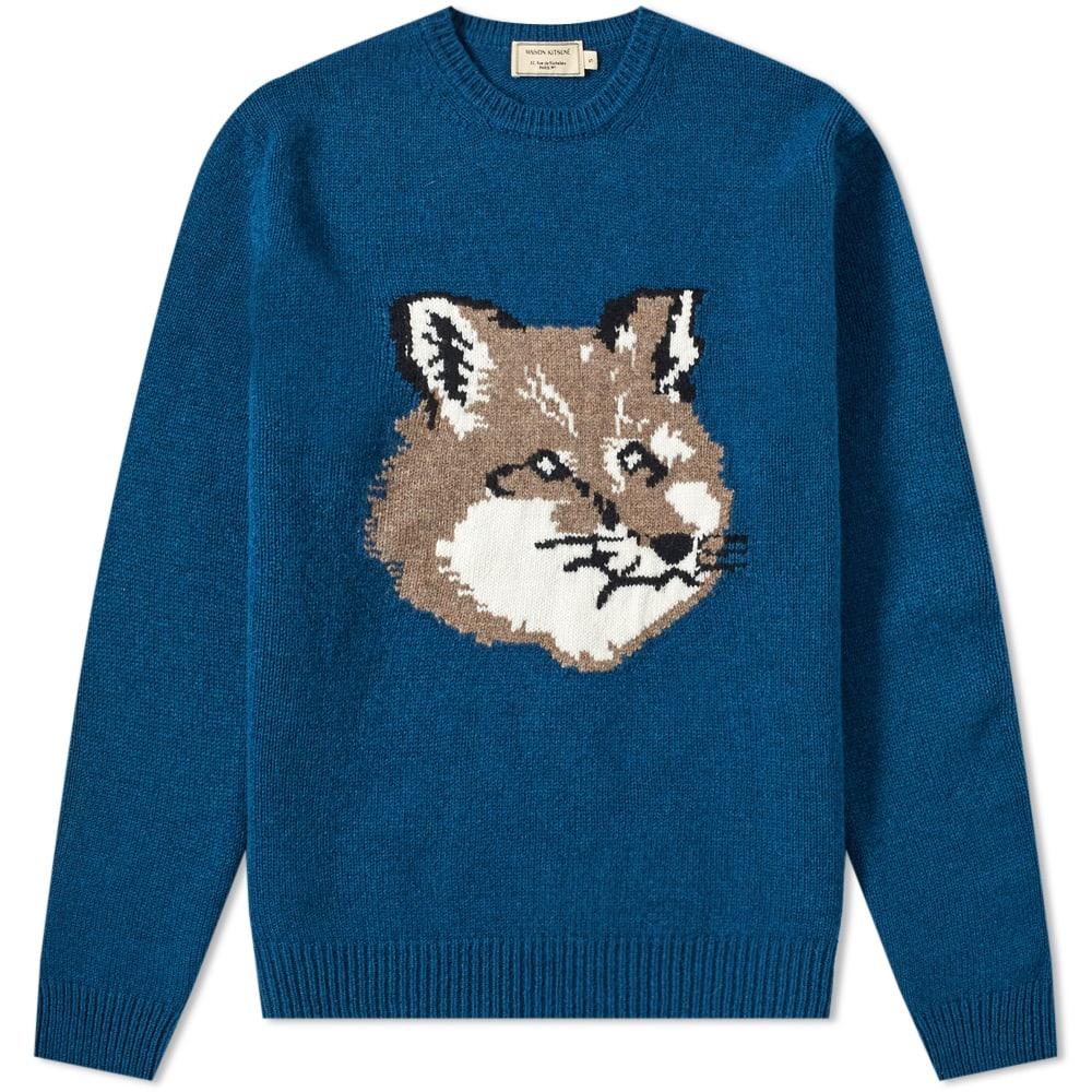 Maison Kitsuné Knits Maison Kitsuné Fox Head Knit