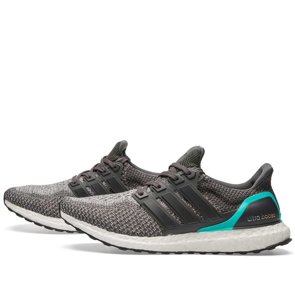 low priced bb230 4b5b5 Adidas Ultra Boost M Solid Grey   Shock Mint   END.