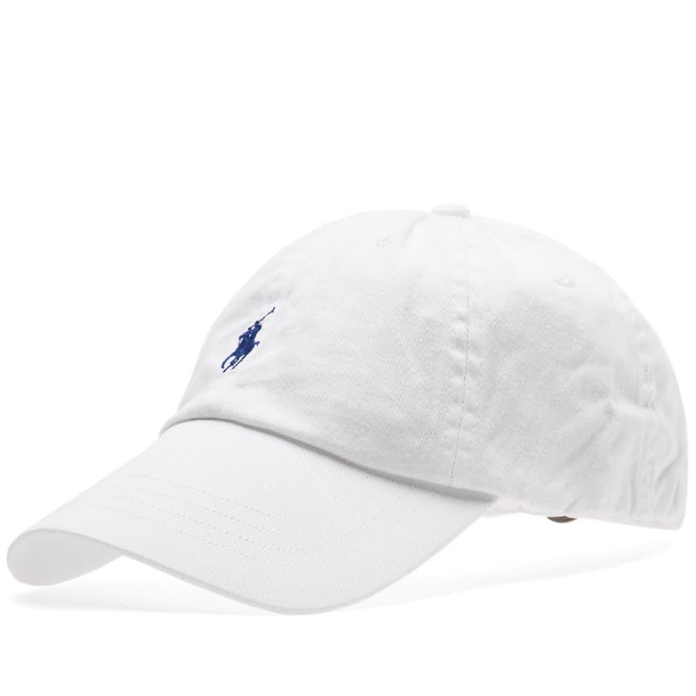 polo ralph lauren classic baseball cap white marlin blue. Black Bedroom Furniture Sets. Home Design Ideas