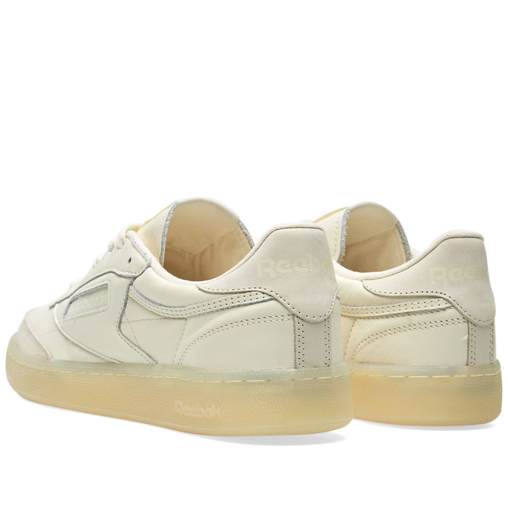 5d550fed533 Reebok Club C 85 BS Olympic Creme   Washed Yellow