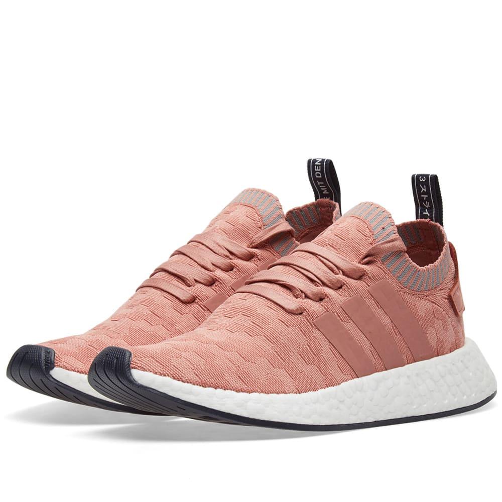 96ce39da8 Adidas NMD R2 PK W Raw Pink   Grey Three