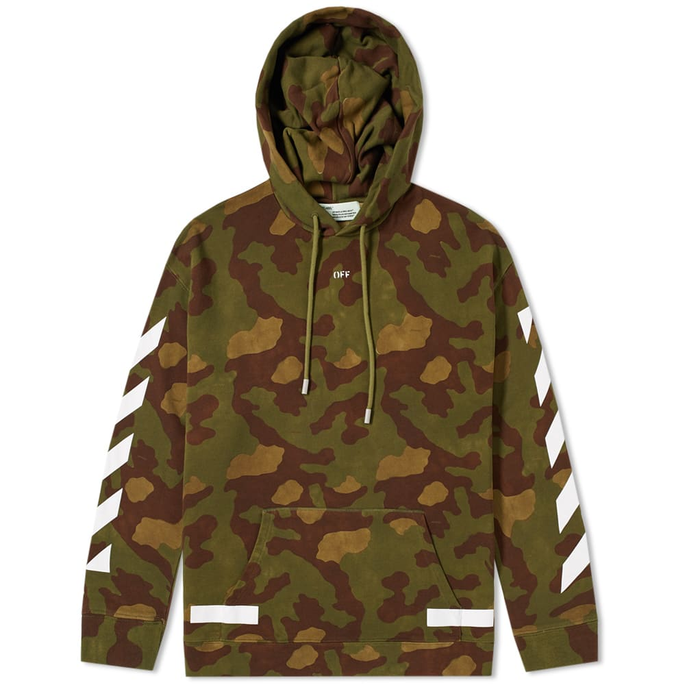 Off-White Diagonals Camo Hoody Camo | END.