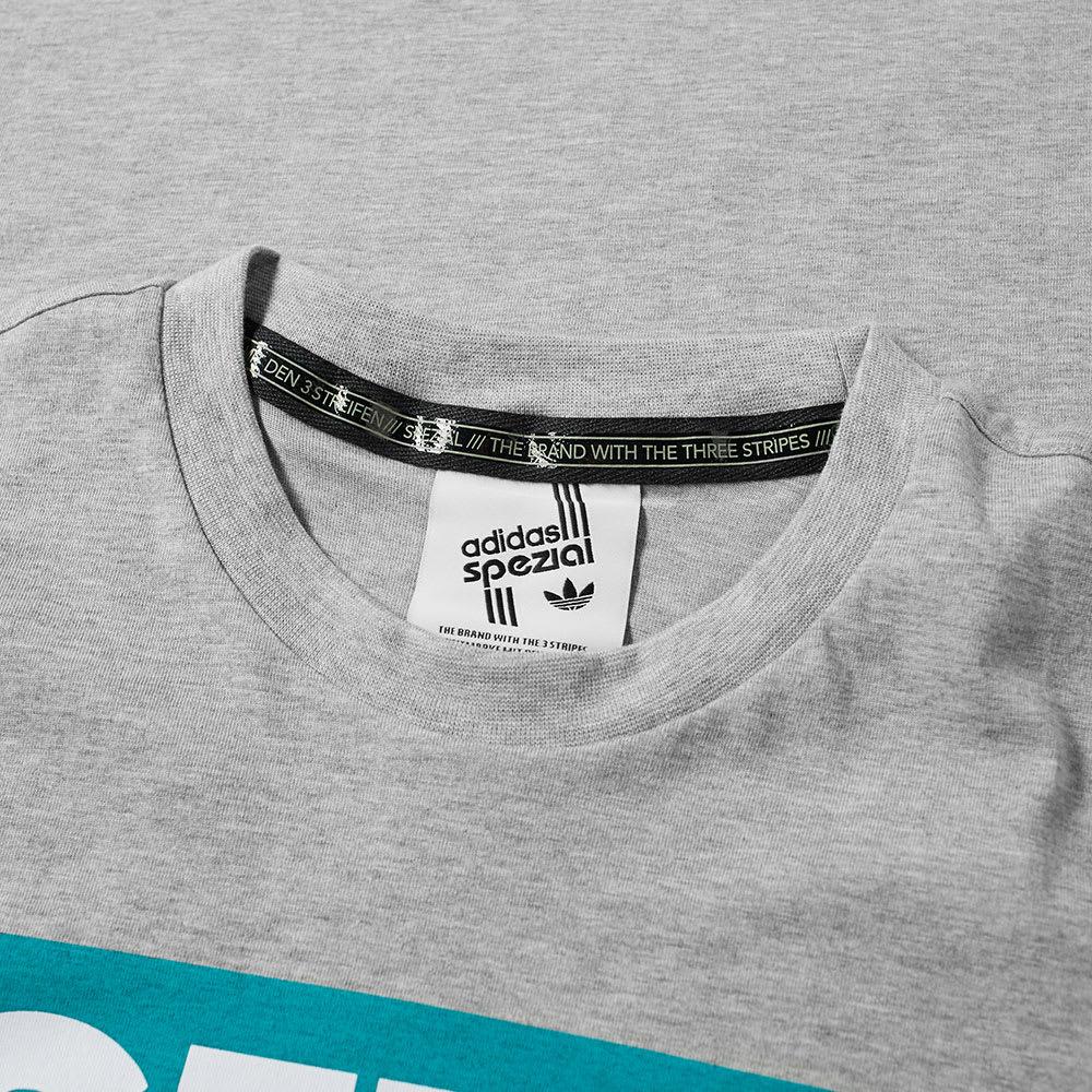 87f49f9c4 Adidas SPZL Graphics Tee Medium Grey Heather | END.