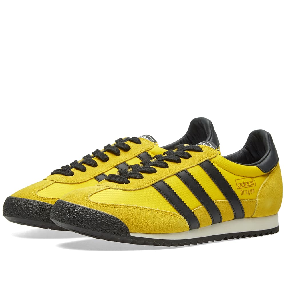 adidas dragon vintage yellow