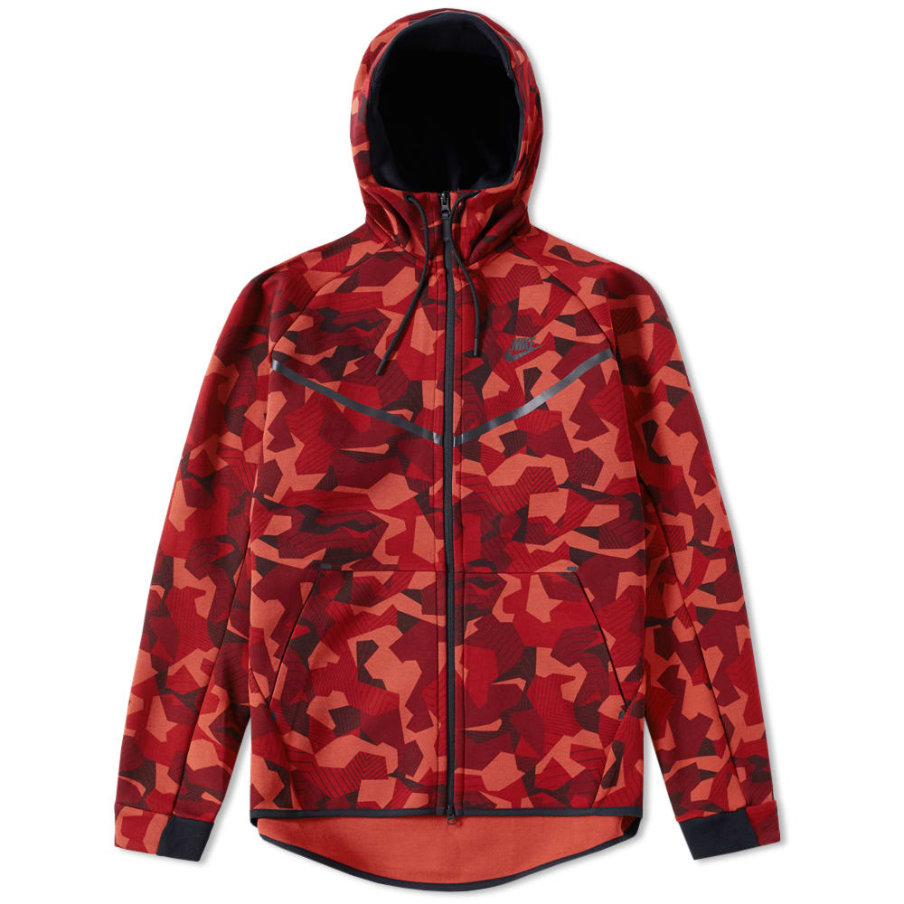 Nike Tech Fleece Camo Windrunner