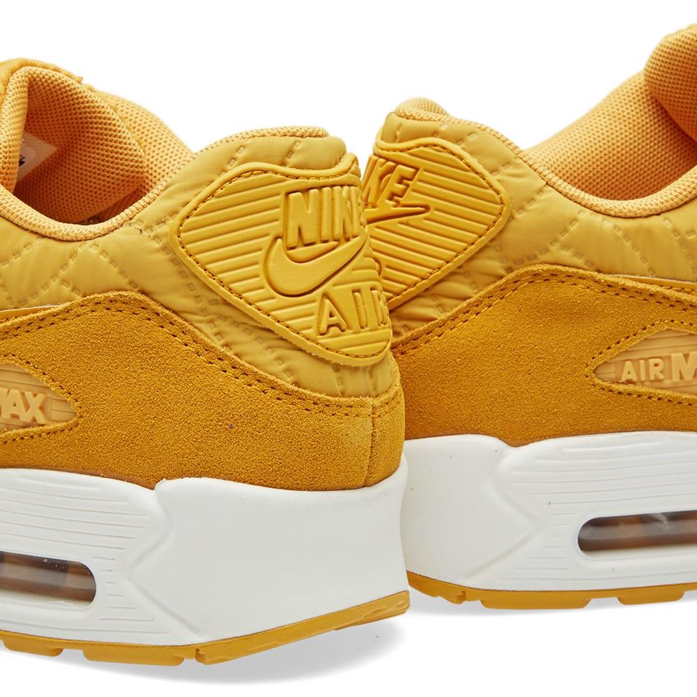 buy popular 57159 714e3 Nike W Air Max 90 Premium Gold Leaf   Ivory   END.