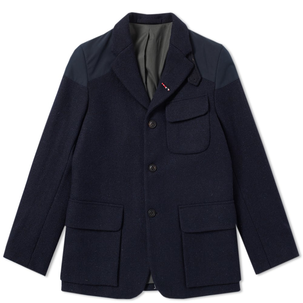 NIGEL CABOURN Nigel Cabourn Authentic Mallory Jacket in Blue