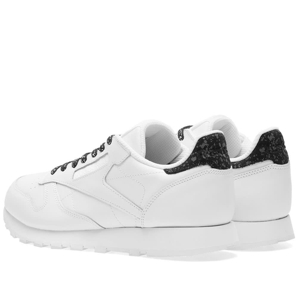 031460e448e29 Reebok Classic Leather IR White   Black