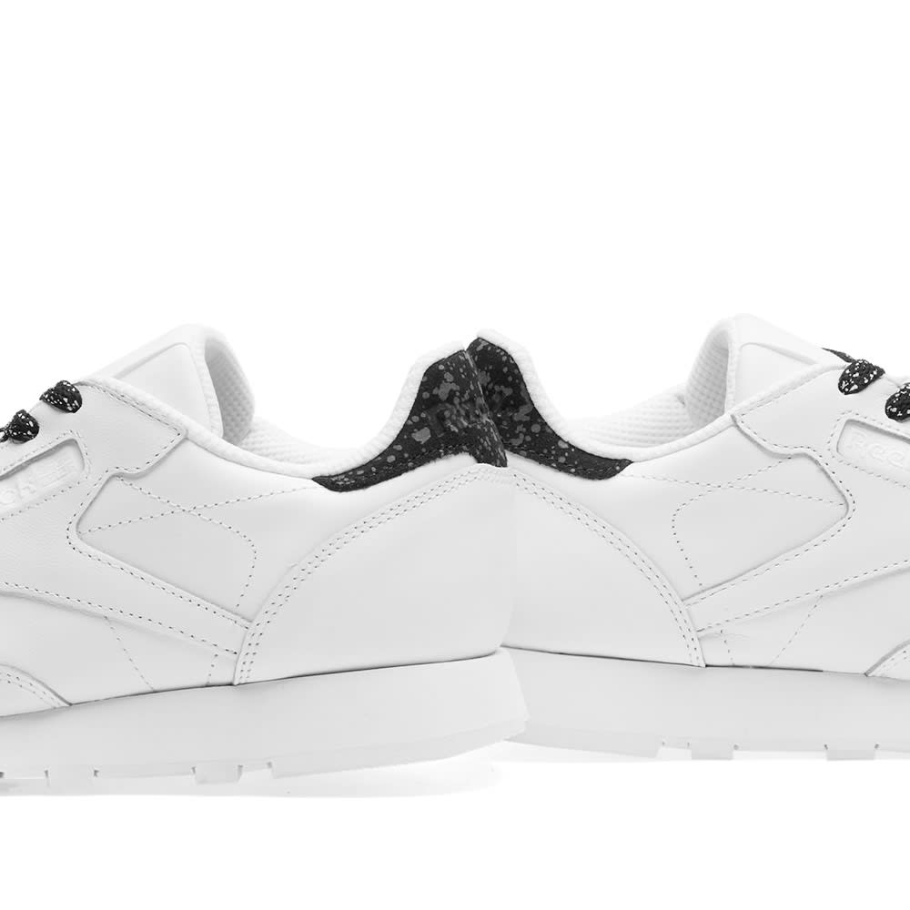 00b9df6042607 Reebok Classic Leather IR White   Black