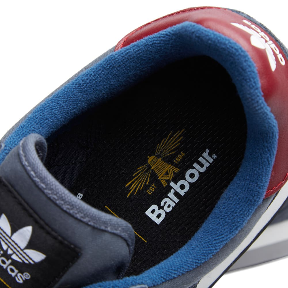 adidas barbour zx 555