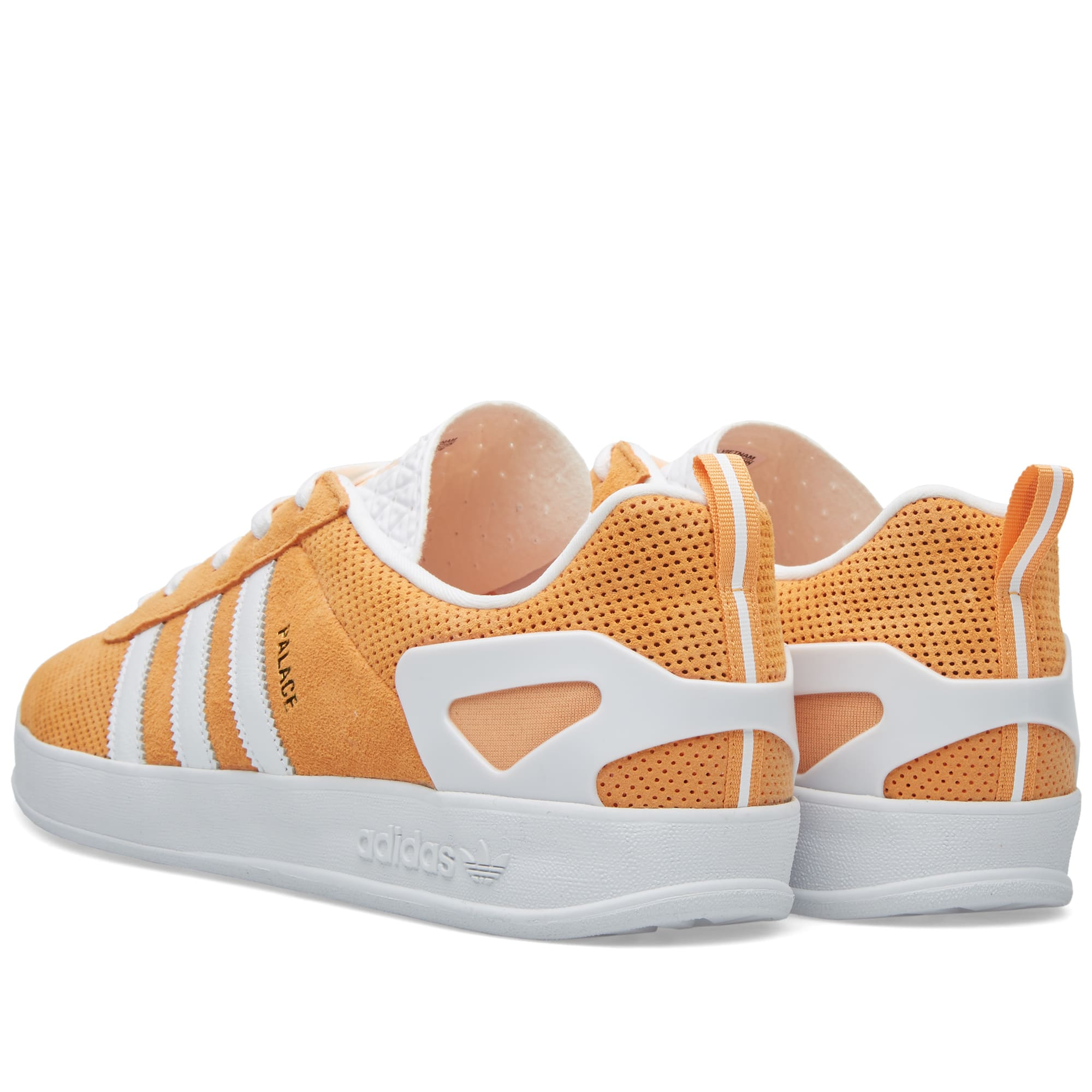 30003153 Adidas x Palace Pro Pumpkin & White | END.