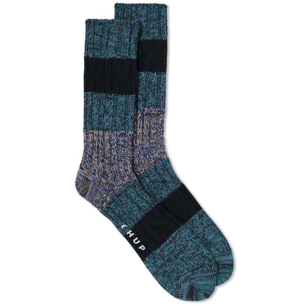 CHUP BY GLEN CLYDE COMPANY CHUP WHITE LABEL STRATUM SOCK