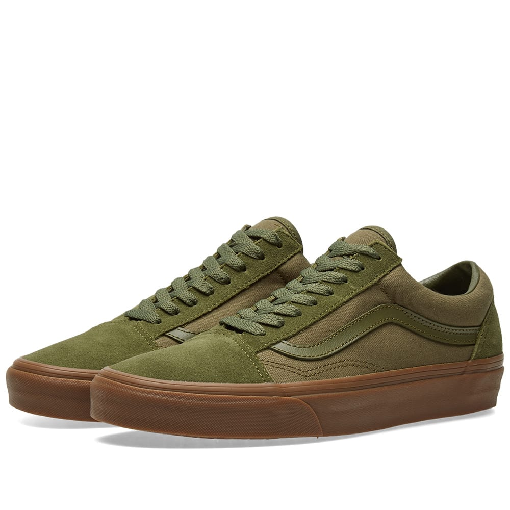 save off check out where to buy Vans Old Skool Winter Moss & Gum | END.
