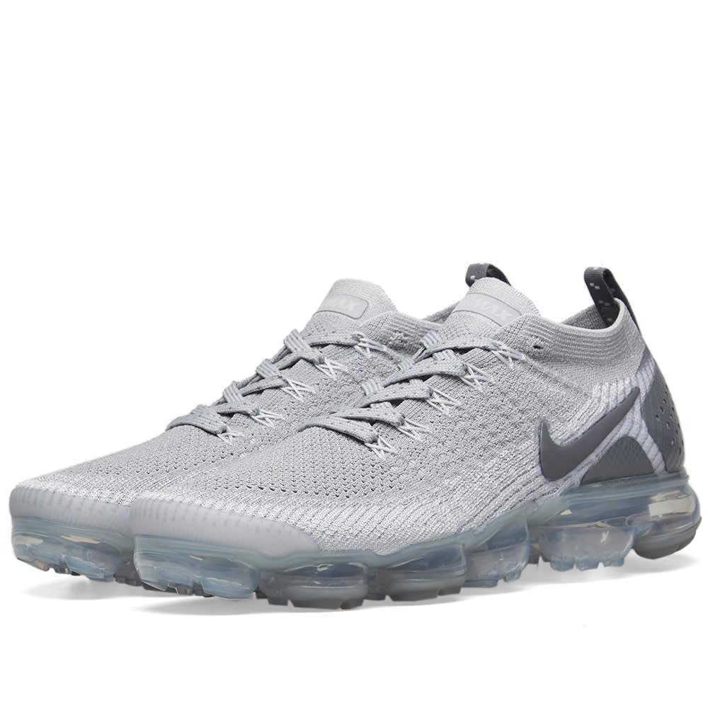 quality design 5dc92 45990 Nike Air VaporMax Flyknit 2 Wolf Grey   Pure Platinum   END.