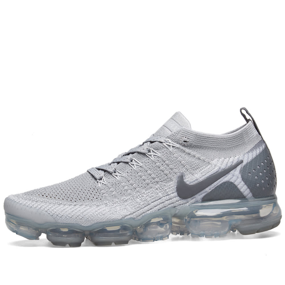 quality design 37190 04d29 Nike Air VaporMax Flyknit 2 Wolf Grey   Pure Platinum   END.