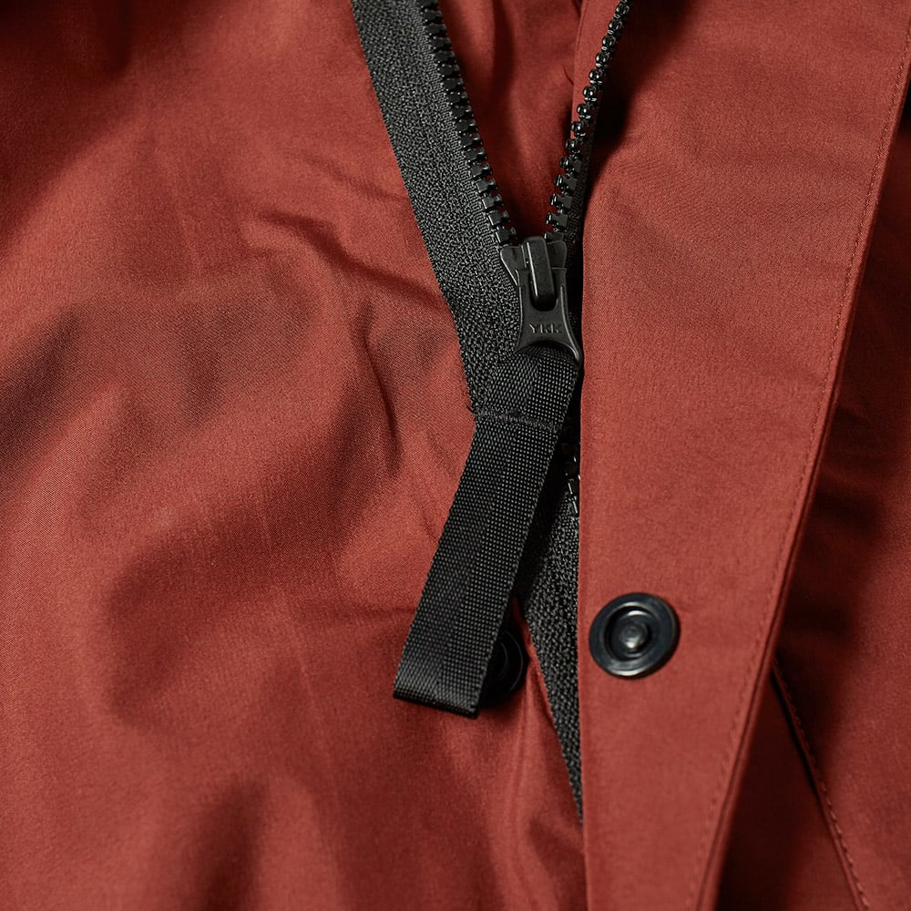 dd18395a33 Shop Nike Lab Nrg 3 Layer Parka In Red