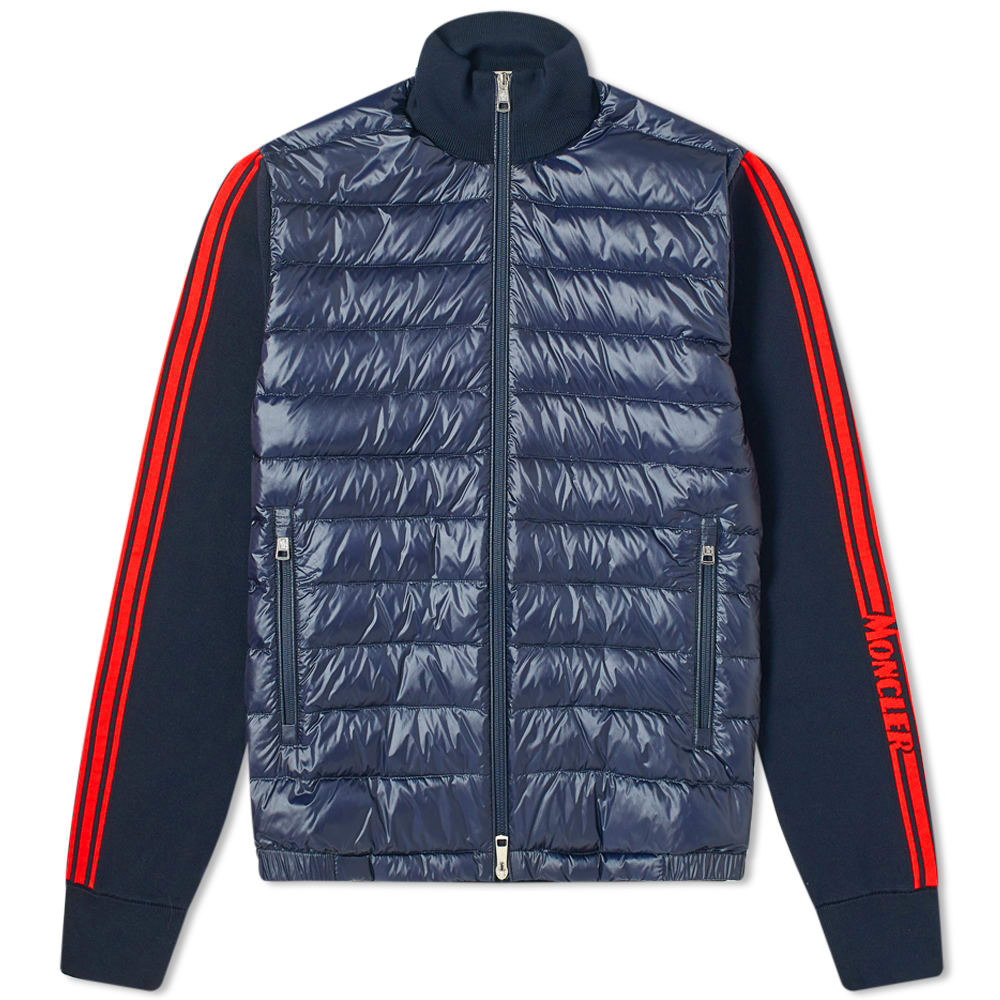 Moncler Knitted Down Cardigan