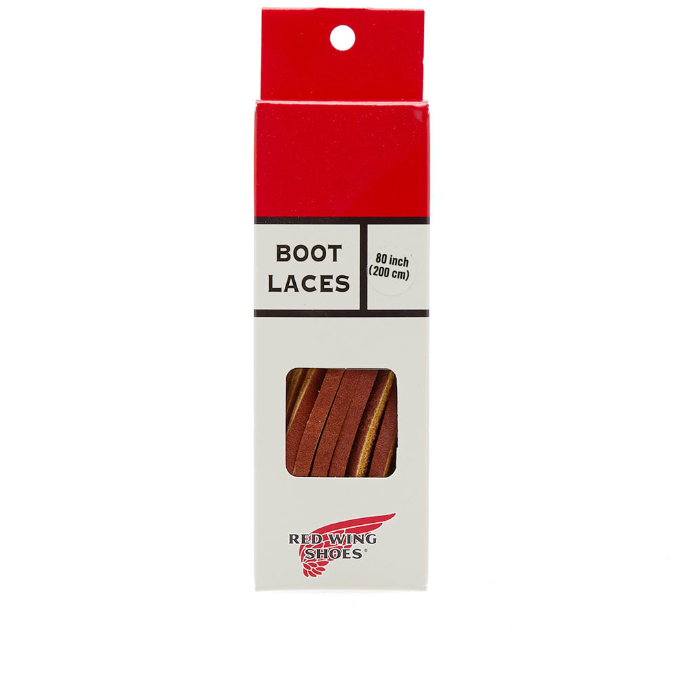"""RED WING 80"""" CHESTNUT LEATHER LACES"""