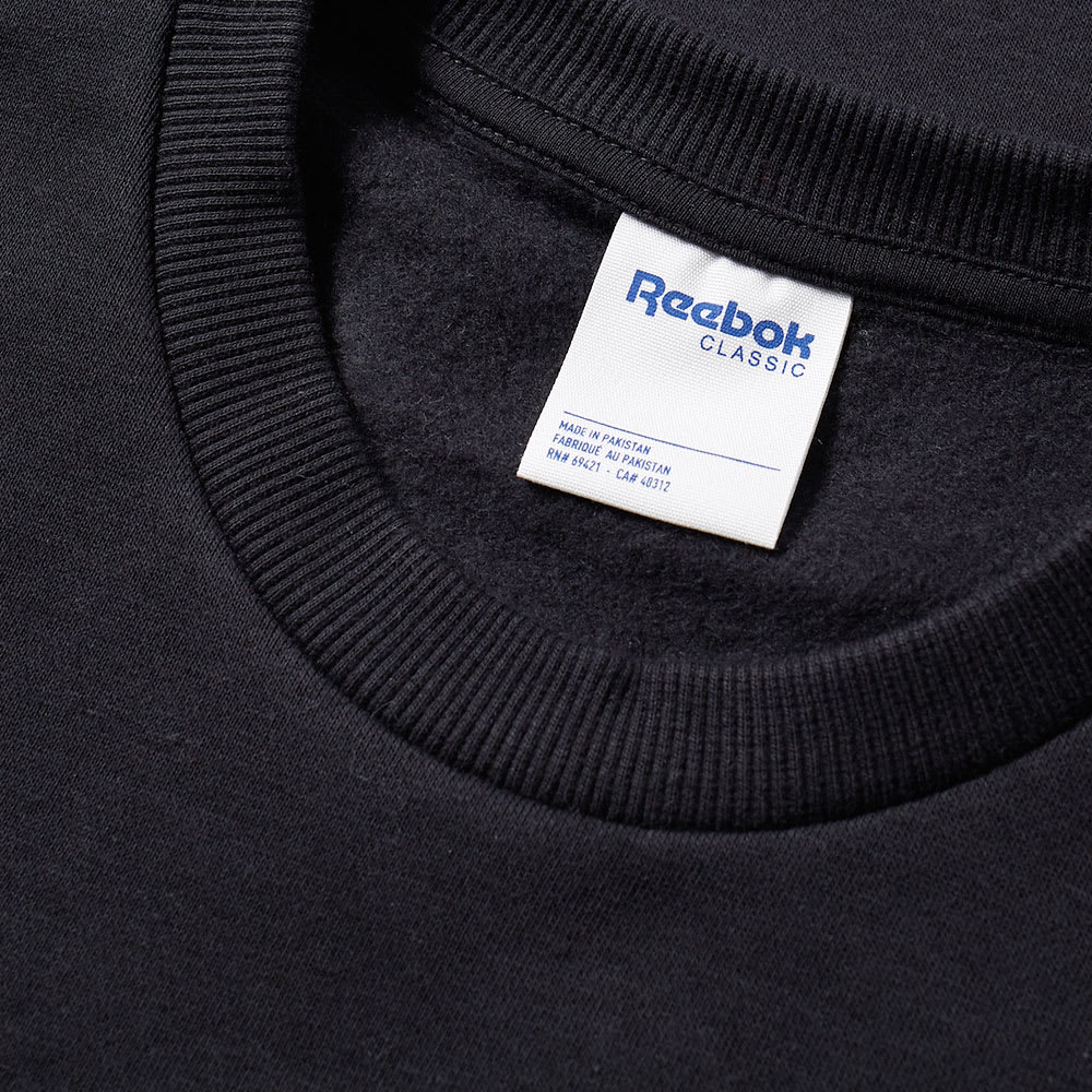 official site good later Reebok Big Starcrest Crew Sweat