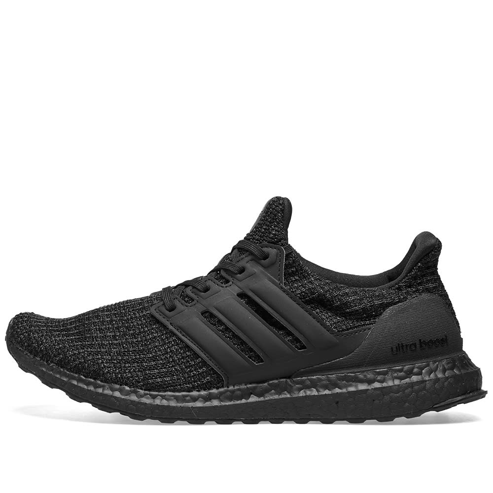 91bd988d22860 Adidas Ultra Boost Core Black   Active Red
