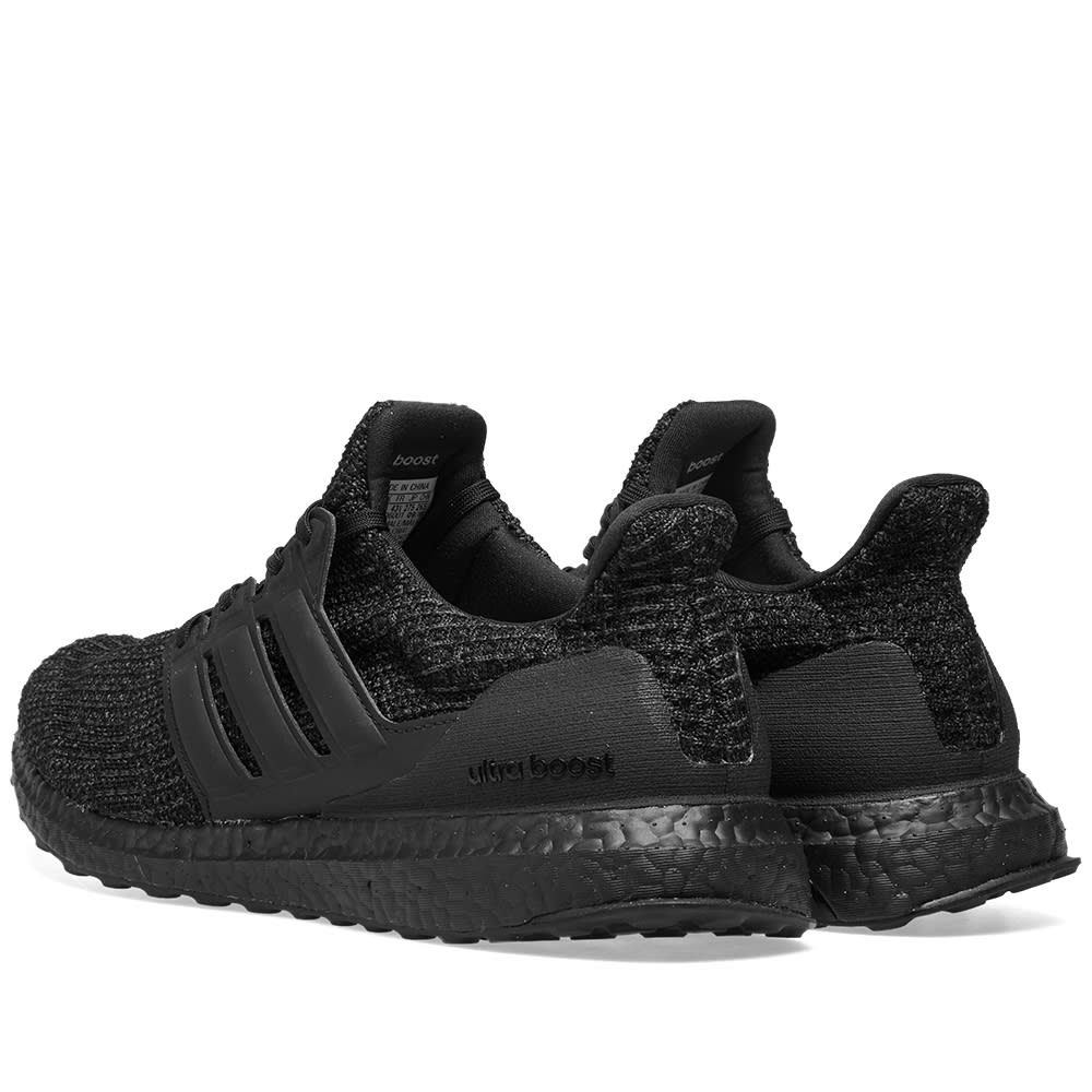 5a185414eb4fe Adidas Ultra Boost Core Black   Active Red