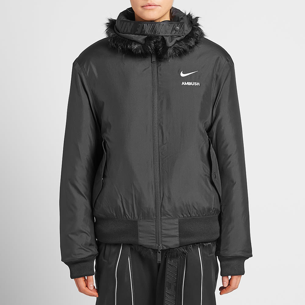 c58cc27091f4 Nike x AMBUSH NRG CA Jacket W Black | END.