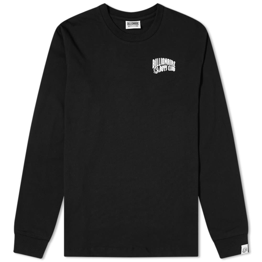 Billionaire Boys Club Long Sleeve Small Arch Logo Tee by Billionaire Boys Club
