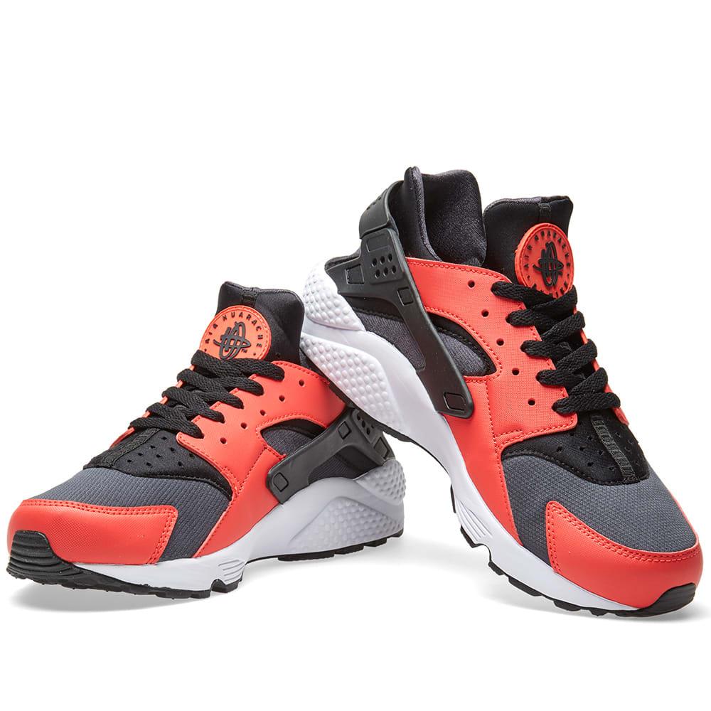 Nike Air Huarache (Max Orange Black Black Anthracite)