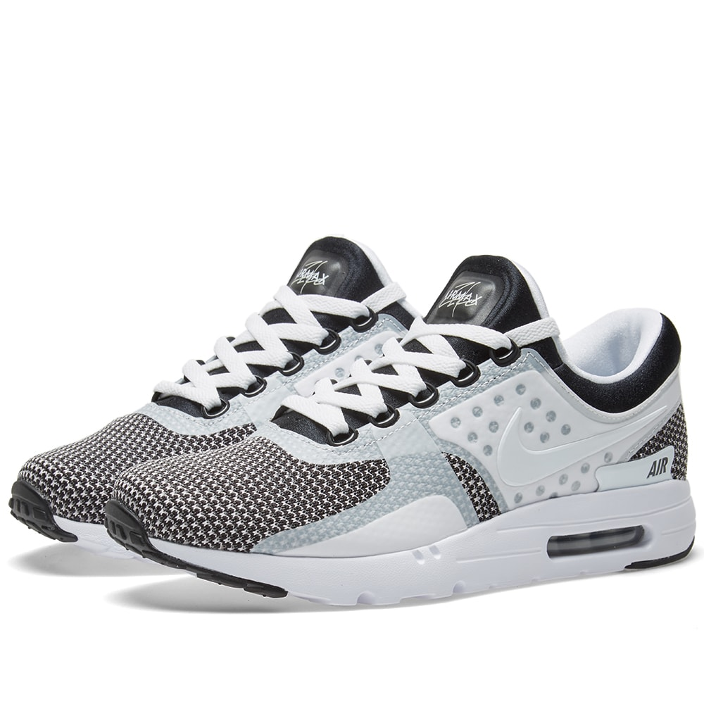 buy popular a34c5 83bfd Nike Air Max Zero Essential Black, White   Wolf Grey   END.