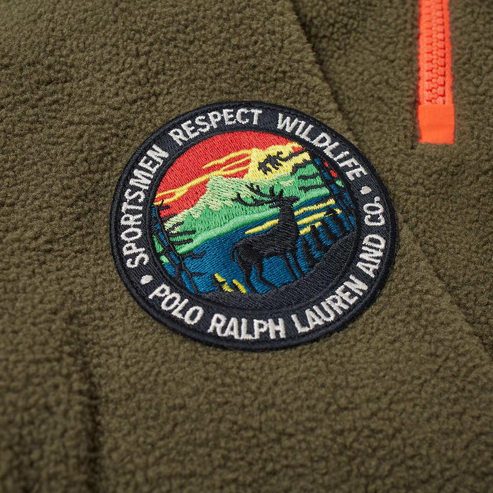93c7399c2 Polo Ralph Lauren Polar Fleece Half Zip Sweat