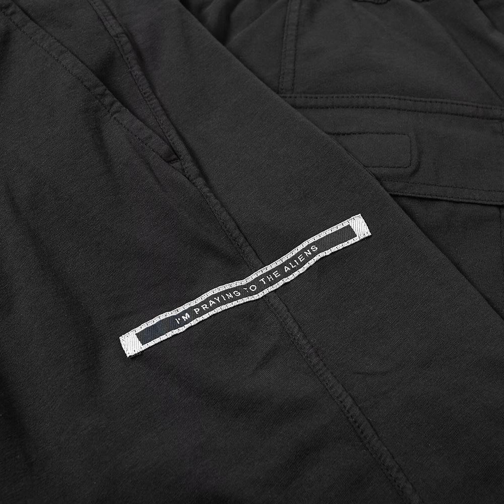 Rick Owens DRKSHDW Logo Patch Drawstring Cropped Pant ...