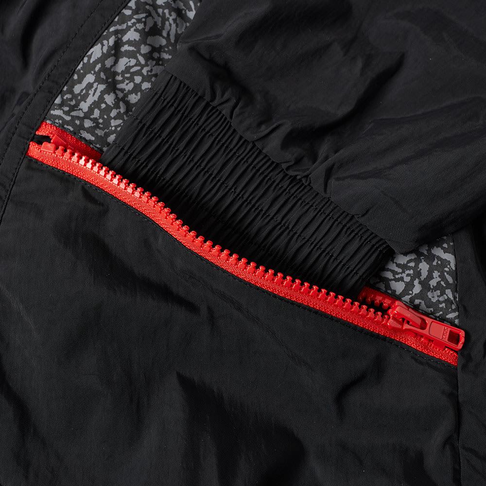 0a7fe8c258d Jordan AJ 3 Woven Vault Jacket Black & University Red | END.