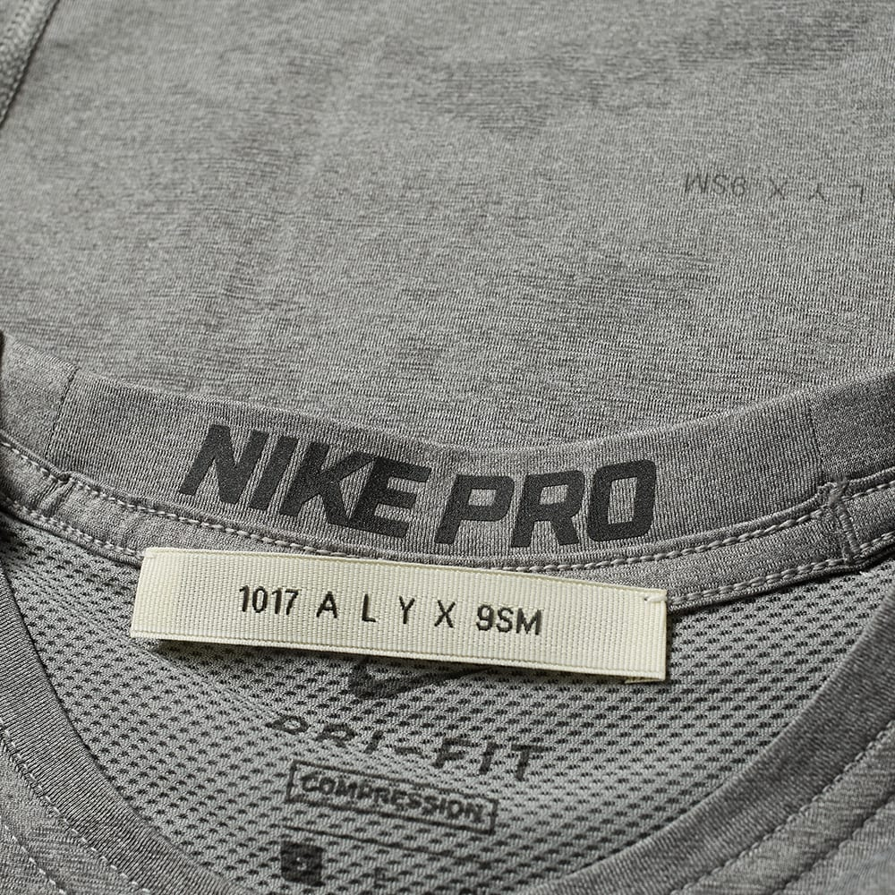 1a3a8e86 1017 ALYX 9SM x Nike Long Sleeve Laser Camo Tee Grey | END.
