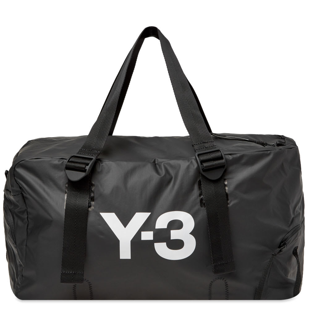 437007422 Y-3 Bungee Gym Bag Black
