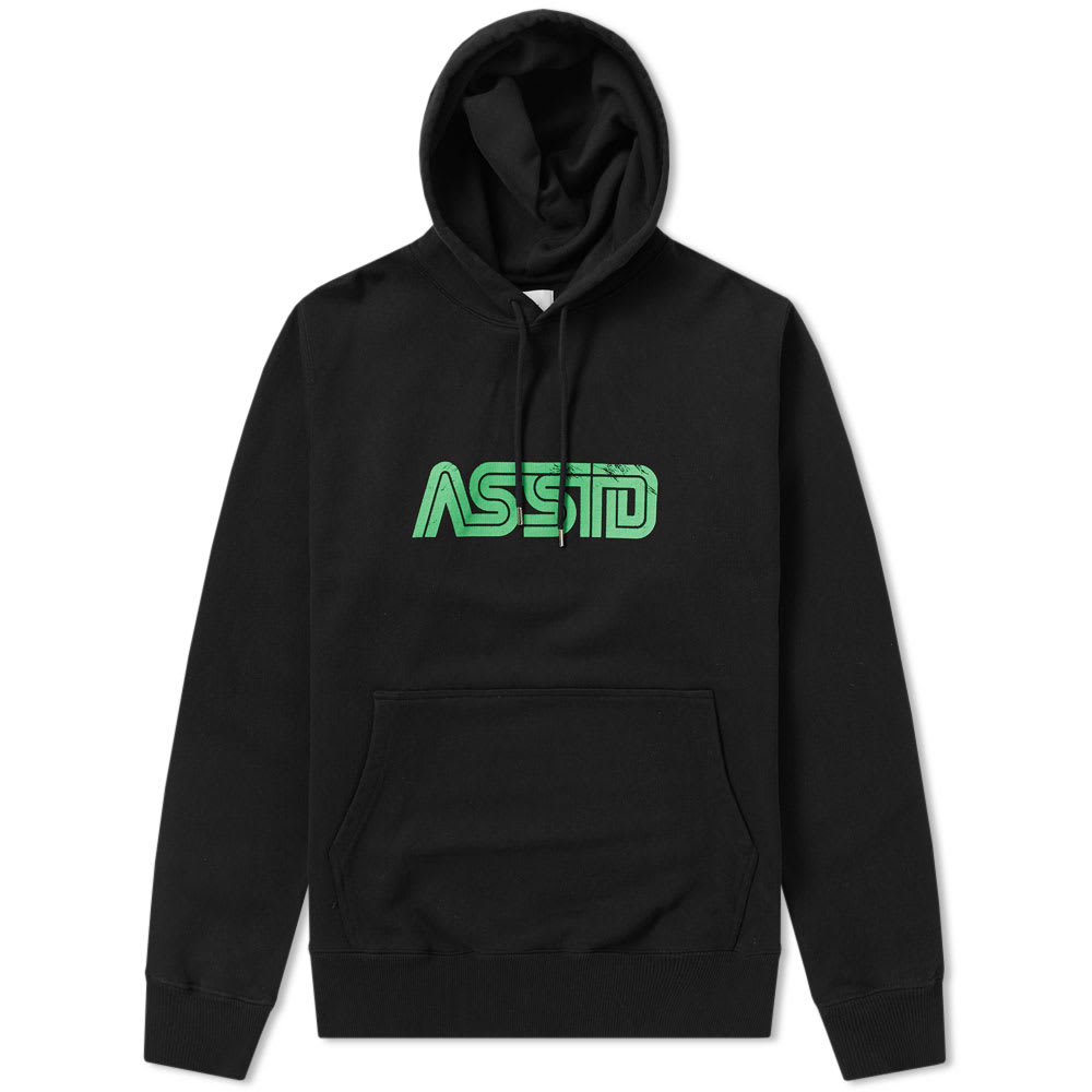 ASSID BLACK CONAN HOODY